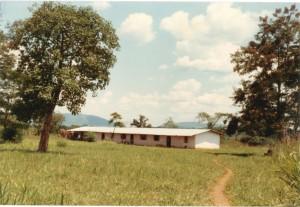 Erstes Gebäude der Schule 1978